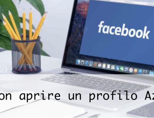 Non aprite quel Profilo (Facebook)